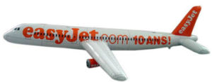 OEM Logo PVC Advertising Promotional Inflatable Airplane Aircraft Plane Toy pictures & photos