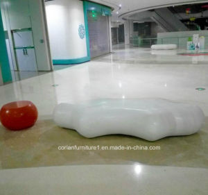 Corian Solid Surface Public Place Seats and Bench pictures & photos