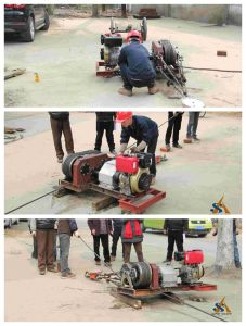 Petrol or Diesel Engine Powered Winch Rope Hoist pictures & photos