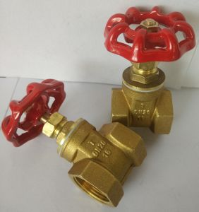 Brass Cut Valve Dn15 Pn16 in High Quality Material Dn15-25mm pictures & photos