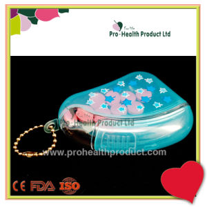With Keychain Sliding Cap Plastic Pill Case pictures & photos