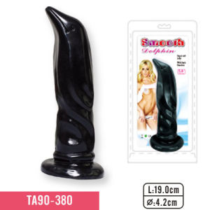 Realistic G-Spot Jelly Dildo Realistic Jelly Penis with Balls Jelly Dildo Dolphin Jelly Dildo pictures & photos