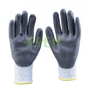 Nitrile Coated Industrial Labor Protective Safety Work Glove (D78-G5) pictures & photos