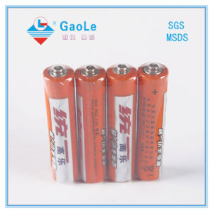 1.5V Super Heavy Duty Dry Battery (UM-4 R03 AAA) pictures & photos