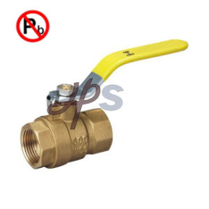 Lead Free Full Port 600 Wog NPT Thread Brass Ball Valve pictures & photos