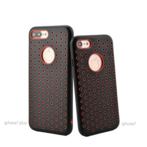 2017 Innovative Heat Dissipation Mesh Hole TPU Protective Phone Covers pictures & photos