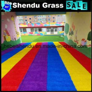 Colorful Synthetic Grass with 30mm Height 4 Colors pictures & photos