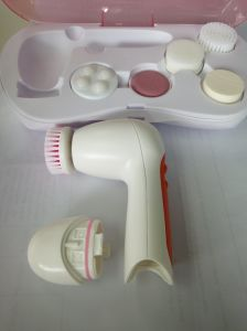 Multifunction Beauty Facial Cleansing Brush & Massager, Pink pictures & photos