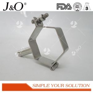 Sanitary Hexagon Pipe Holder with Handle Sanitary Fittings pictures & photos