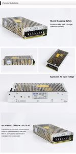 HSC-150 Single Output Switching Power Supply 150W, 12VDC, 15VDC, 24VDC, 48VDC pictures & photos