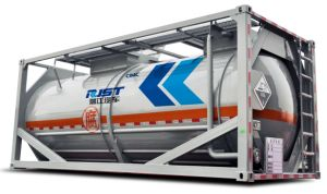 40ft Tank Container Semi Trailer/Tank Container/Powder Tank (WL5400XG) pictures & photos
