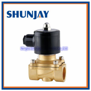 High Quality 1/8~2 Inch Brass Material Solenoid Valve pictures & photos