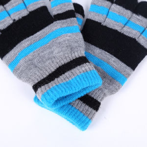 New Design Jacquard Touch Screen Gloves pictures & photos