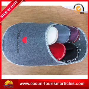 Airline Slipper with Beautiful Printing $ Customer′s Logo pictures & photos