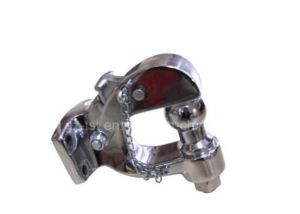 Chrome Universal Pintle Hook Tow Hook Trailer Hook pictures & photos