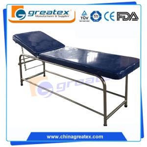 (Back  Rest Adjustable) Massage Table Antique Medical Examination Table  (GT EXC01)