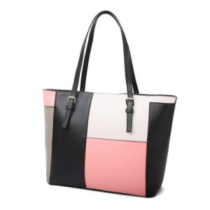 Fashion Color Pattern Women Shopper Tote pictures & photos