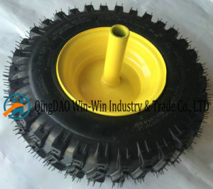 13X4.10-6 Rubber Pneumatic Wheel for Turf Lawn Mower Garden pictures & photos