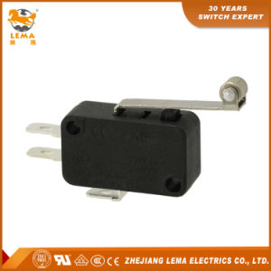 Lema Kw-7-2 Long Metal Roller Lever CCC Ce UL VDE Micro Switch pictures & photos