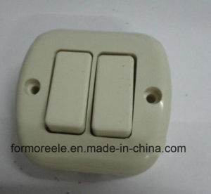 Different Types of Mini Wall Switch /Push Button Switch for South America pictures & photos