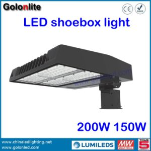Shenzhen Manufacturer Shoebox Lighting Factory 120lm/W 200W LED Show Box Light pictures & photos