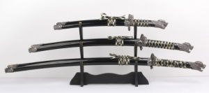 Dragon Samurai Sword Set for Home Decoration pictures & photos