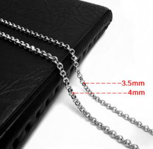 Lobster Chain Necklace 19.68 Inch & 23.62 Inch 316L Stainless Steel pictures & photos