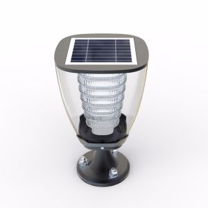All in One Solar Energy LED Garden Light Aluminium Fixture pictures & photos