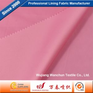 100% Overflow Polyester Twill Fabric for Suit Lining pictures & photos