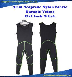 Men Neoprene Sleeveless Nylon Fabric Hunting Fishing Surfing Wetsuit pictures & photos