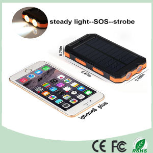 Outdoor Mobile Charger Solar Power Bank with Dual USB and Compass (SC-6688) pictures & photos