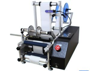 Semi-Automatic Adhesive Round Bottle Labelling Machine (mm-60R) pictures & photos
