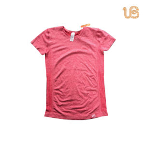Seamless Sports Short Sleeves for Women pictures & photos
