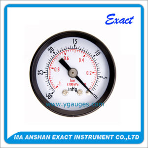 Vacuum Manometer-Gas Pressure Gauge-Stainless Steel Manometer pictures & photos