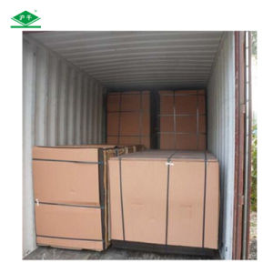 Hot Sale Decorative Plywood with E1 Grade Veneer Paper Plywood pictures & photos