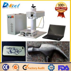China Dekcel Mini Portable CNC Fiber Laser Metal Marking Machine pictures & photos