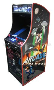 Upright Arcade Machine Retro Game Machine for Promotion pictures & photos