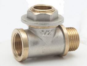 The Brass Nickel Tee Pipe Fittings pictures & photos