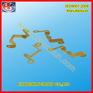 Custom Made Different Kind of Brass Contact Connector (HS-BC-0021) pictures & photos