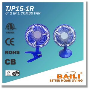 "Popular 6"" 2 in 1 Combo Fan pictures & photos"