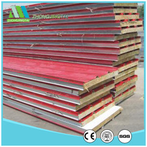 Rock Wool Sandwich Panel / Rockwool Insulation Panel pictures & photos