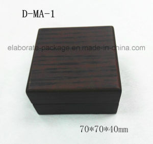European Style Small Jewelry Box with Multi Insert Design Hardwood Ring Box pictures & photos