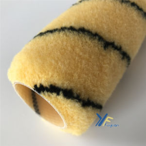 "9"" Polyester or acrylic Black Stripe Paint Roller pictures & photos"
