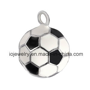 Sports Jewelry Enamel Football Charm pictures & photos