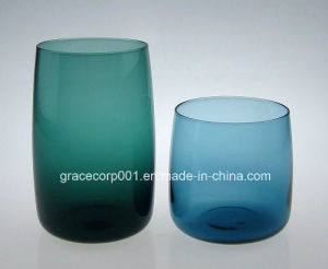 Drinking Glassware Solid Color Glass Tumbler Glass Carafe Hand Made pictures & photos
