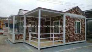 Modern Mobile Prefabricated/Prefab House for Holidays Llife pictures & photos