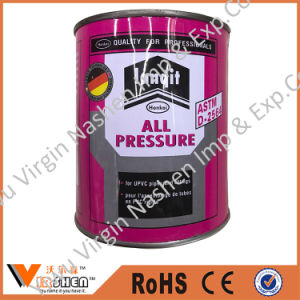 UPVC Adhesive Glue for Pipes and Fittings, Pvcu Pipe Fittings Adhesives pictures & photos