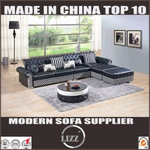 2017 Divany Modern Leather Sofa for Living Room Furniture (LZ069) pictures & photos