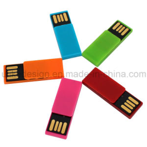 Simple Design Plastic USB Flash Drive (UL-P019) pictures & photos