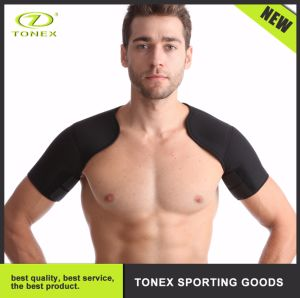 Breathable Compression Elasticity Adjustable Shoulder Support Brace Exercises Pads pictures & photos